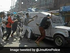 CRPF Vehicle, Attacked By Protesters, Runs Over 3 In Kashmir; Police Cases Filed
