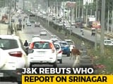 Video : Srinagar Not Among Most Polluted, Says Jammu And Kashmir On WHO Report