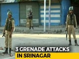 Video : 3 Grenade Attacks On Forces After Kashmir Man Crushed During Clashes Dies