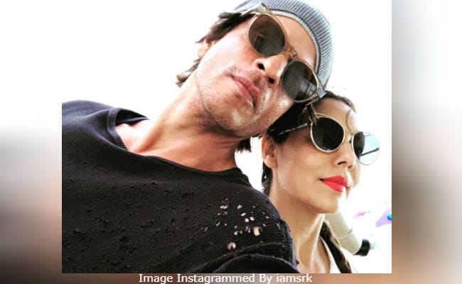 'After Years,' Shah Rukh Khan Was 'Allowed' To Post Pic With Wife Gauri. Internet's Smitten (So Are We)