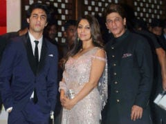 Akash Ambani-Shloka Mehta's Engagement: Shah Rukh Khan, Gauri, Aryan And Aishwarya, Abhishek Bachchan, Aaradhya And Others