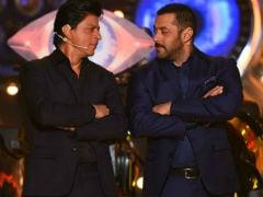 <i>Loveratri</i> Teaser: '<i>Kitna Acha Hai</i>,' Shah Rukh Khan Tweets To Salman Khan For Aayush Sharma And Warina Hussain