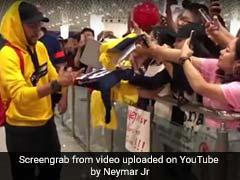 Neymar Joins Paris Saint-Germain On China Tour
