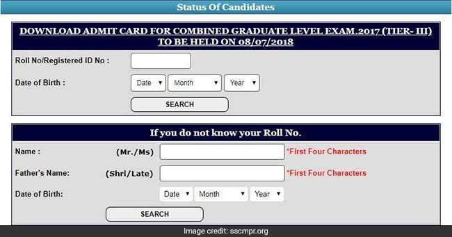 SSC CGL 2017 Tier 3 Admit Card Released; Download From SSC Regional Websites
