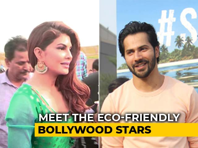 Varun, Jacqueline & Other Eco-Friendly Stars Spread Awareness