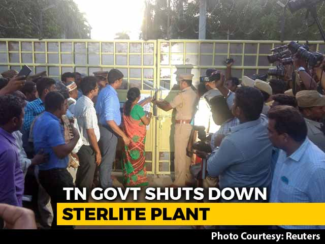 Video : Closure Of Sterlite Plant Unfortunate, Will Study Order, Says Vedanta