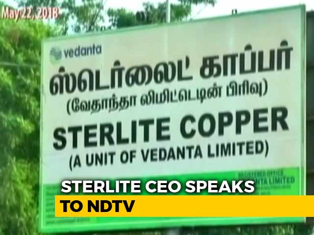 Video : No Violation Of Any Environmental Laws: Sterlite Copper CEO Tells NDTV