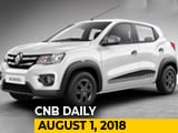 Video : 2018 Renault Kwid, Datsun New Design Language, Maruti Suzuki July 2018 Sales