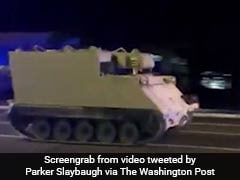 Tank-Like Vehicle Stolen From Military Base, Two-Hour Long Police Chase Follows