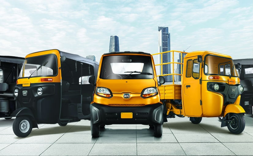 Bajaj Auto's three-wheeler plant currently produces 840,000 units per annum