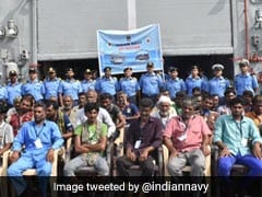 Indian Navy Brings Back 38 Stranded Indians From Cyclone-Hit Yemen Island