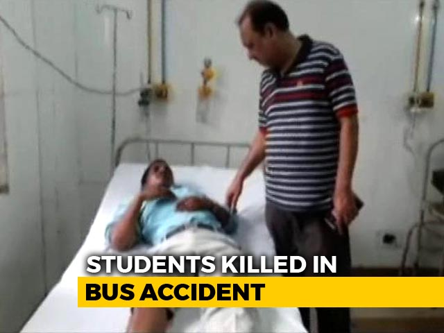 Video : 7 Students On Way To College Picnic Run Over By Bus On UP Expressway