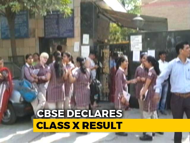 Video : CBSE Class 10 Results Announced, 4 Students Tie For Top Rank
