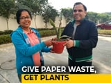 Video : Give Paper Waste, Get Plants, Says Waste Warrior Sudha Singh From Noida