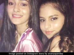 For Suhana, Birthday Greeting Sent By BFF Ananya Panday