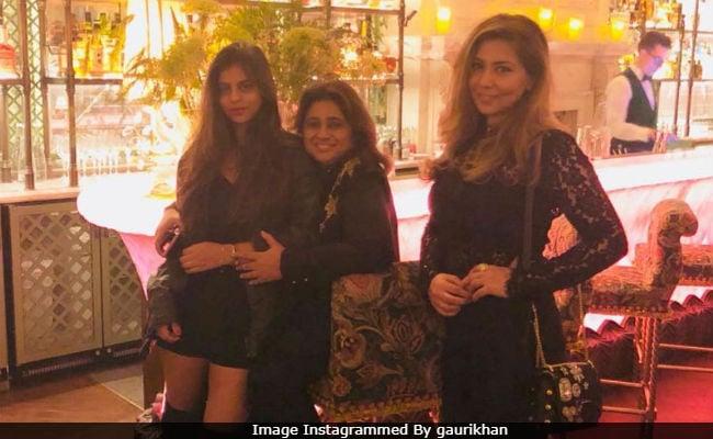 Gauri Khan Posts Nice Pic Of Suhana From London Holiday