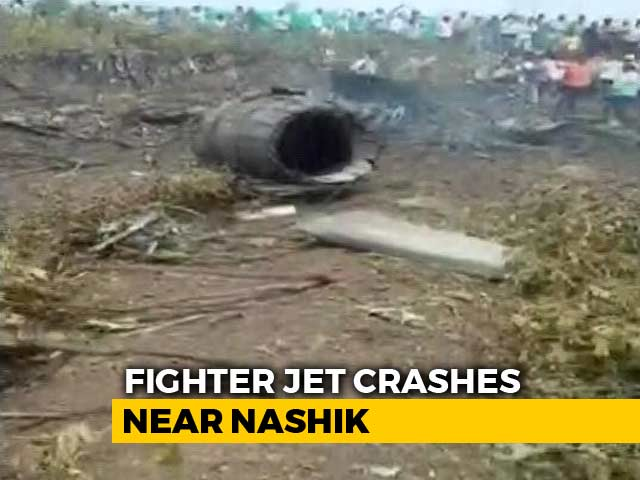 Video : Sukhoi Jet, On Test Flight, Crashes In Maharashtra's Nashik; Pilots Safe