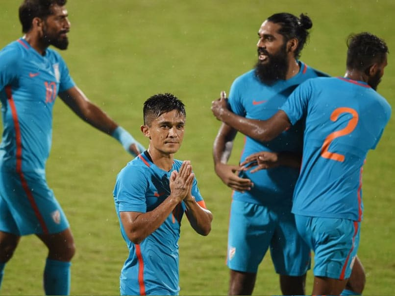 Intercontinental Cup: Sunil Chhetri Double On 100th Game Helps India Beat Kenya
