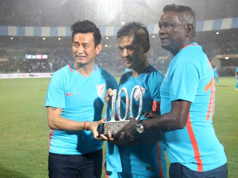 Sunil Chhetri 100th Match: Wishes Pour In, From Sachin Tendulkar, Virender Sehwag And Many More