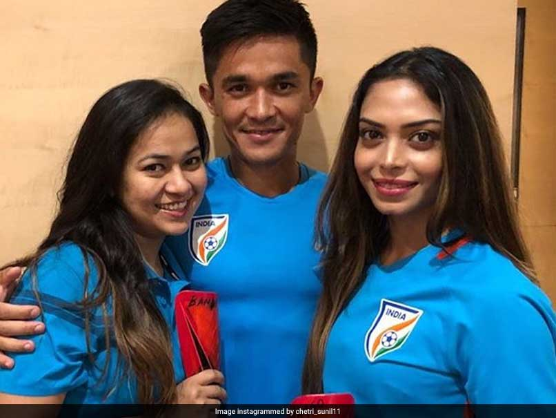 Sunil Chhetri Gives New Names To His Shin Pads After India Win Intercontinental Cup