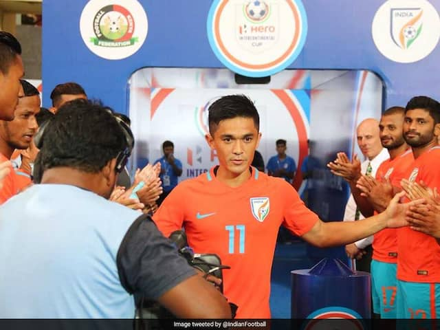 Sunil Chhetri Sends Thank You Message To Fans, Says Well Give Our Lives On The Pitch