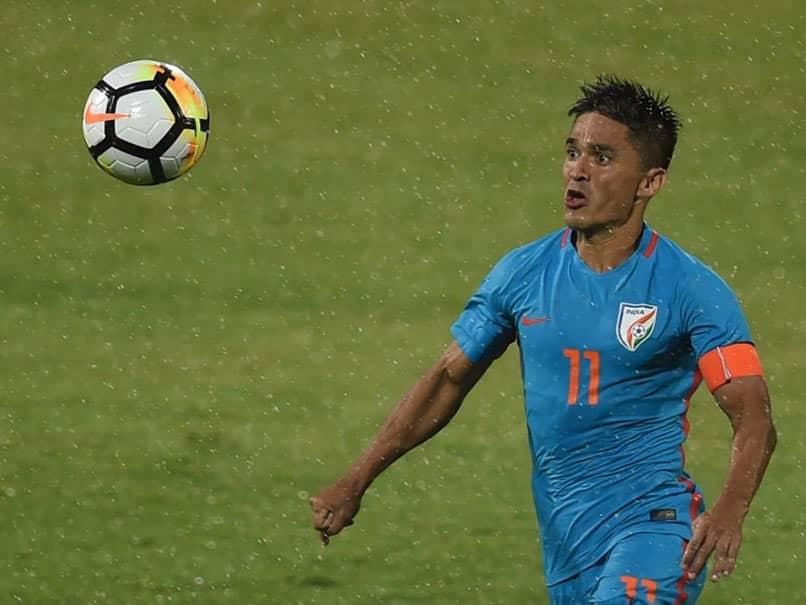Sunil Chhetri Scores A Brace To Equal Lionel Messis International Goals Tally