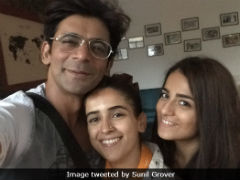 "Sunil Grover Sums Up <i>Chhuriyaan</i> Filming As ""Joyful Experience"""