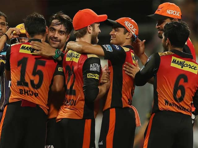 IPL 2018 Qualifier 2: SRH Outplay KKR, To Play CSK In Final