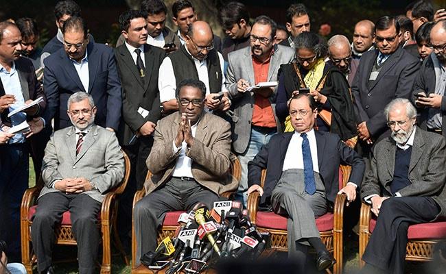 supreme court judges press conference