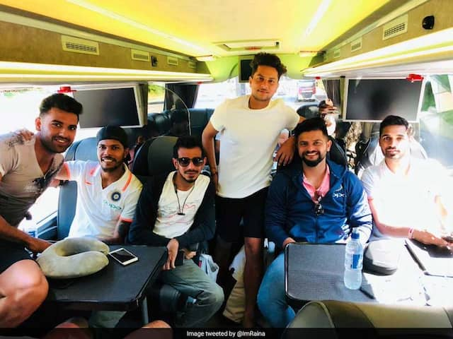 Off To Cardiff: Suresh Raina Shares Photo With Kuldeep Yadav And Yuzvendra Chahal