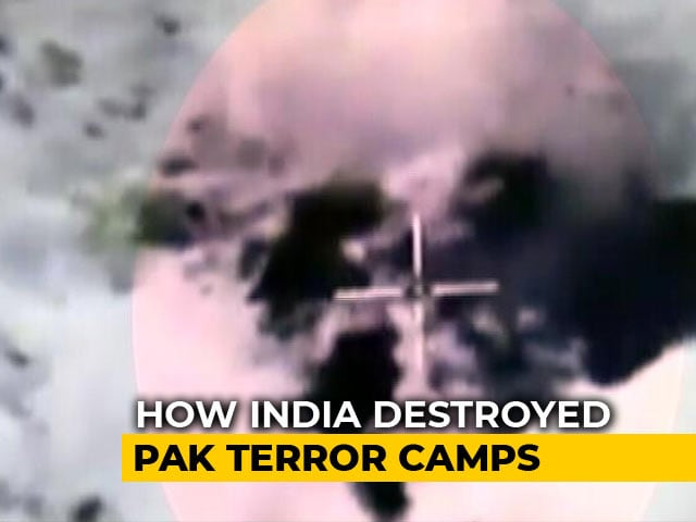 Video : Watch: Video Of Surgical Strikes Destroying Pak Terror Camps