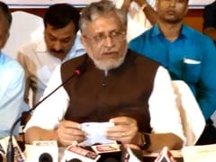 "Sushil Modi Files Defamation Case Against Rahul Gandhi Over ""Modi"" Remark"