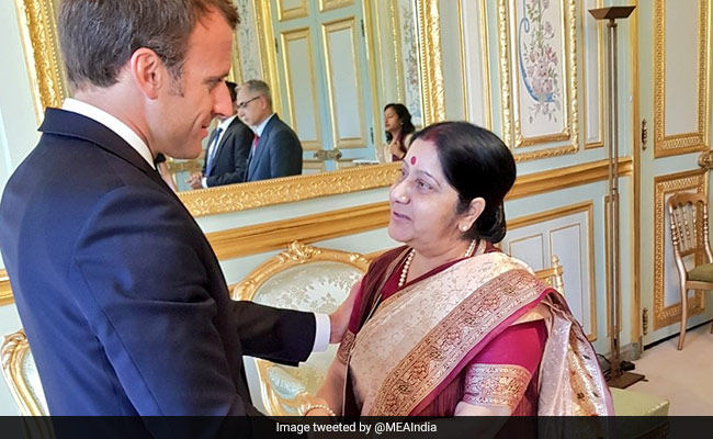India, France To Build Strong Development Partnership: Ms Sushma Swaraj