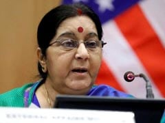 Sushma Swaraj's Plane To Mauritius Was Untraceable For About 14 Minutes