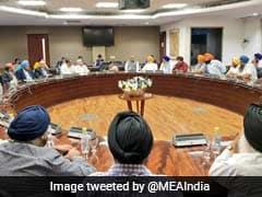 Sushma Swaraj Meets Families Of Those Killed In Afghan Terror Attack