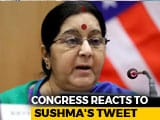 "Video : ""Honoured With Some Tweets"": Sushma Swaraj Throws An Uppercut At Trolls"