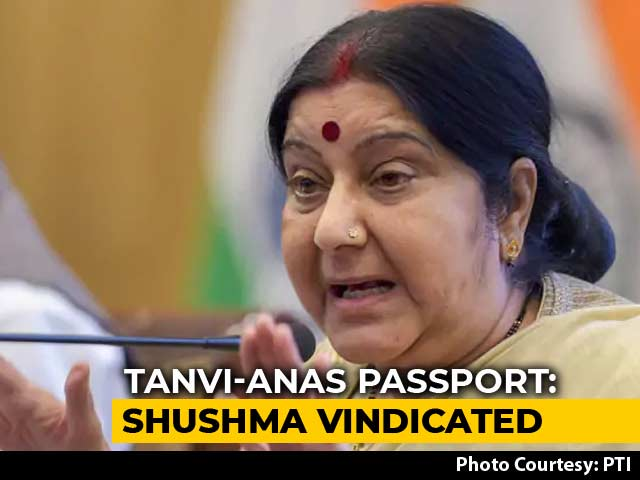"Video : Amid Trolling Of Sushma Swaraj, Her Ministry Says Official ""Overstepped"""