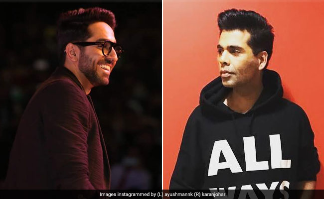 Ayushmann Khurrana, Very Much Married, Wants To 'Turn Down Women Politely'. Karan Johar Shares The 'Oldest Trick'
