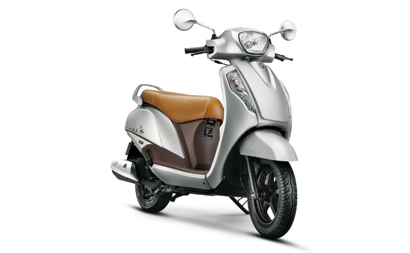 The Suzuki Access 125 Special Edition introduces a new colour and a beige leatherette seat