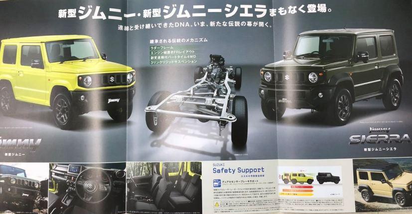 suzuki jimny details leaked