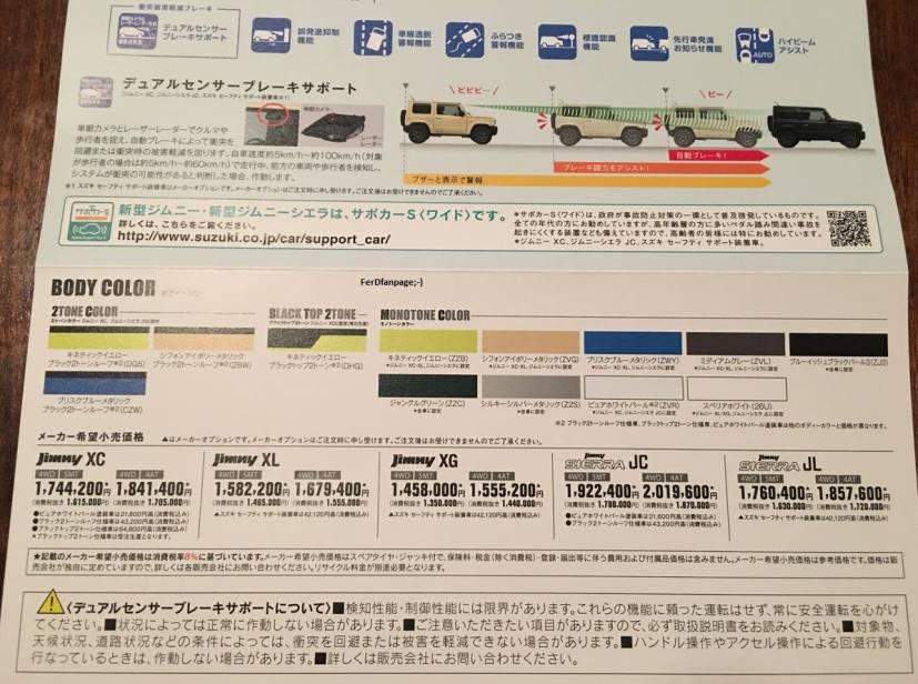 suzuki jimny price leaked