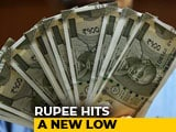Video: Rupee Hits Fresh Record Low Of 70.32 Against US Dollar