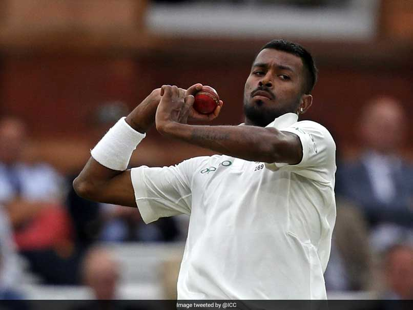 Pandya Blames Hostile Bowling Conditions For India's Misery At Lord's
