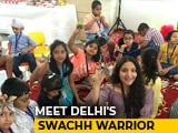 Video : This Delhi Woman Has Given Upcycling A Creative Spin