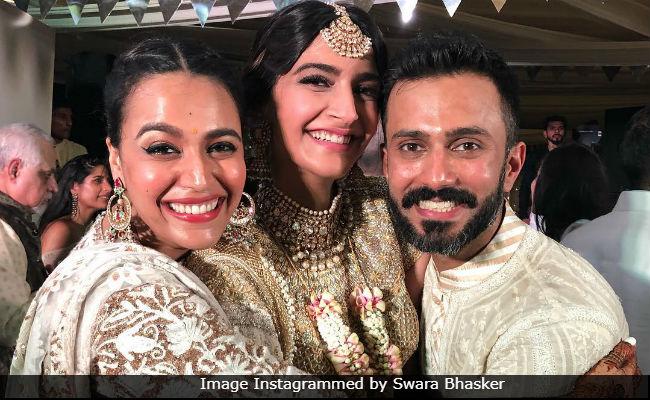 Sonam Kapoor Postponed Her Wedding For Swara Bhasker. Here's Why