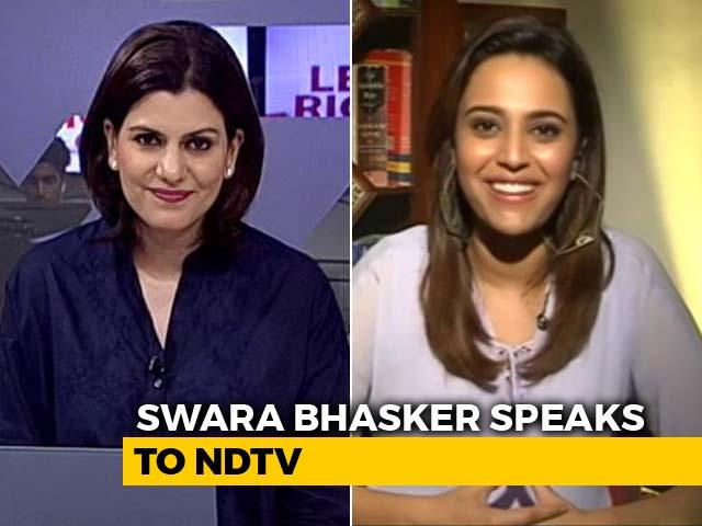 Video : Actor Swara Bhasker On 'Veere Di Wedding', Trolls And More