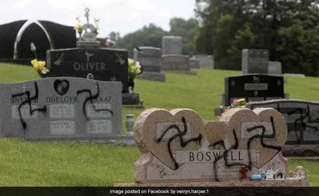 US Man Charged With Painting Swastikas On Cemetery Headstones