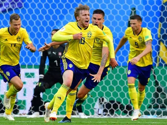 World Cup 2018: Sweden Book Place In World Cup Quarter-Finals After Edging Past Switzerland