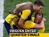 Video : FIFA World Cup 2018: Emil Forsberg's Goal Takes Sweden To Quarters