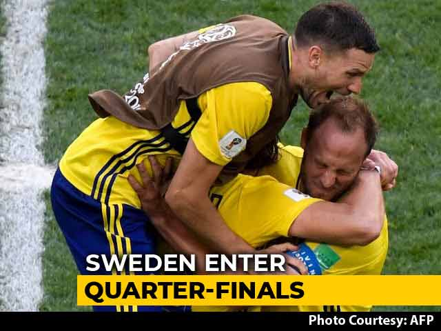 FIFA World Cup 2018: Emil Forsbergs Goal Takes Sweden To Quarters
